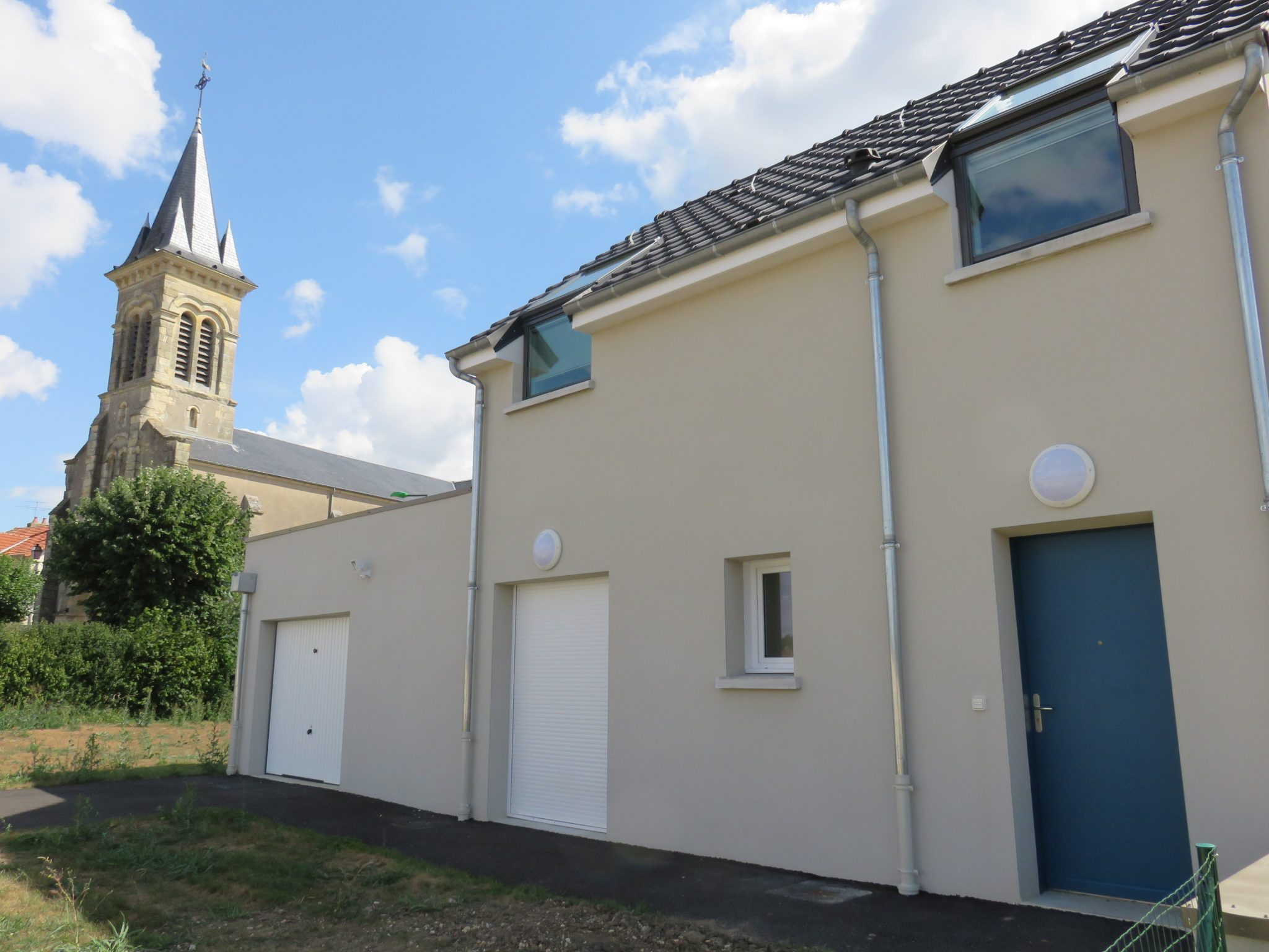 PLACE DES ECOLES, RUE DE L'EGLISE, RUE DU SABOT, Challuy, 58000, Pavillon, Patrimoine 1950
